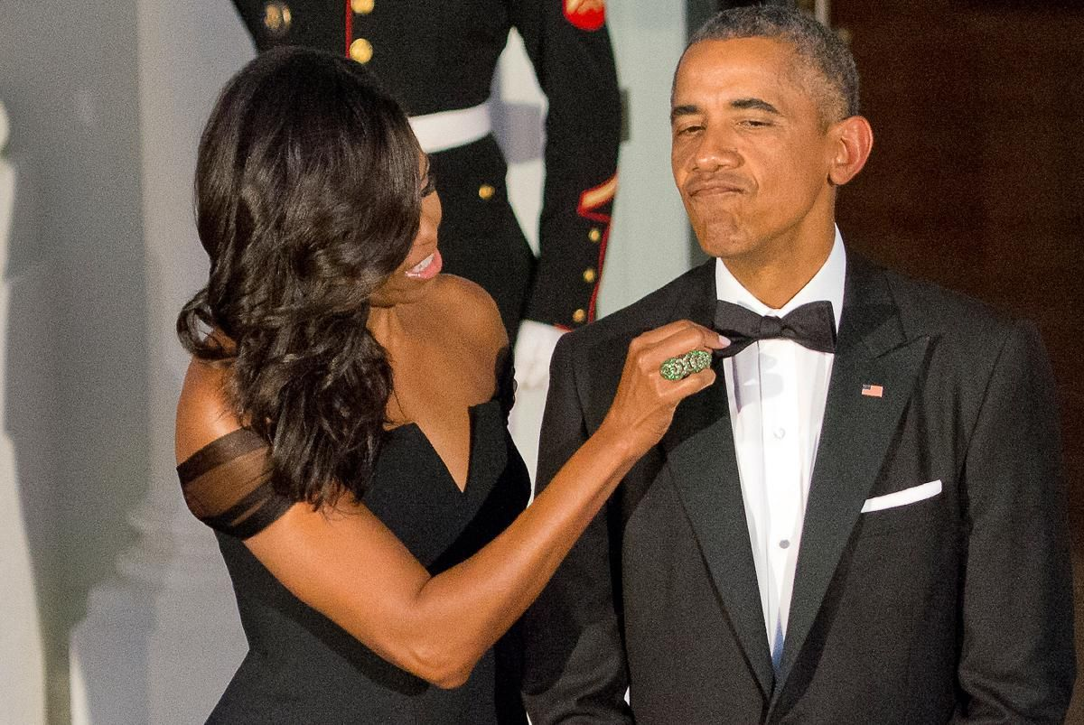 See Barack and Michelle Obama\'s Love Story in Pictures   Pinterest ...