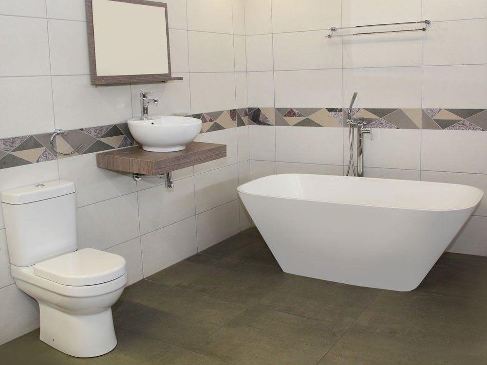 White Catherine Bath Ctm Stone Bath Free Standing Bath Tub Modern Baths
