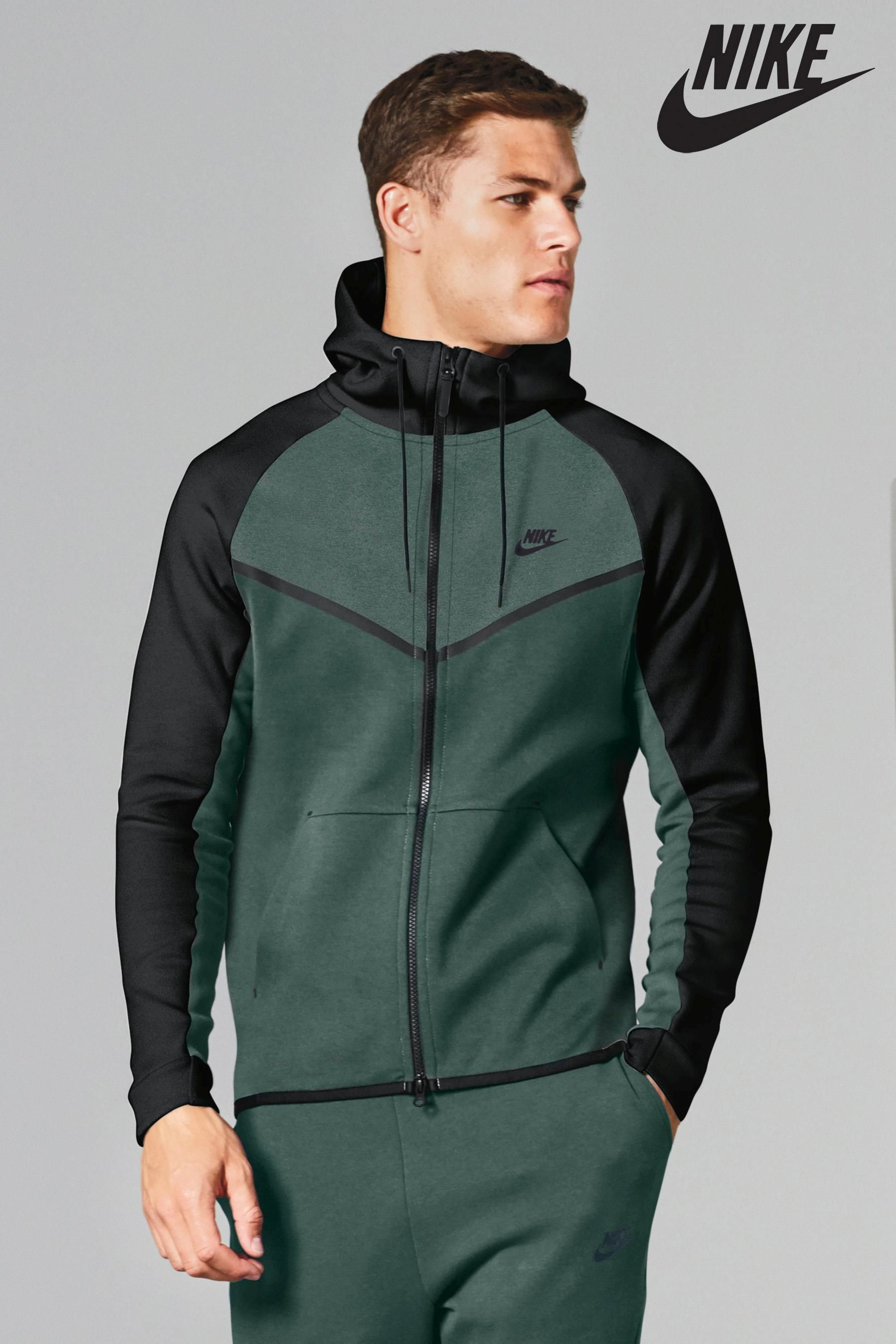 Buy Nike Tech Colourblock Hoody from the Next UK online