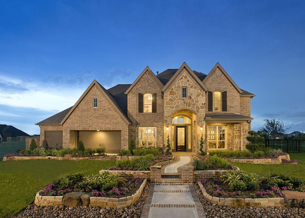 Perry Homes - Bridgeland - Design 4499W #HoustonHomes | Dream home ...