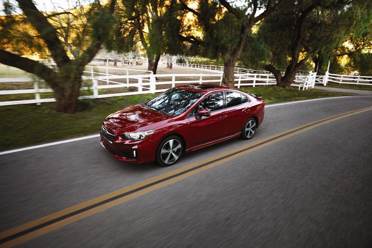 For 2017, the Subaru Impreza is designed to deliver