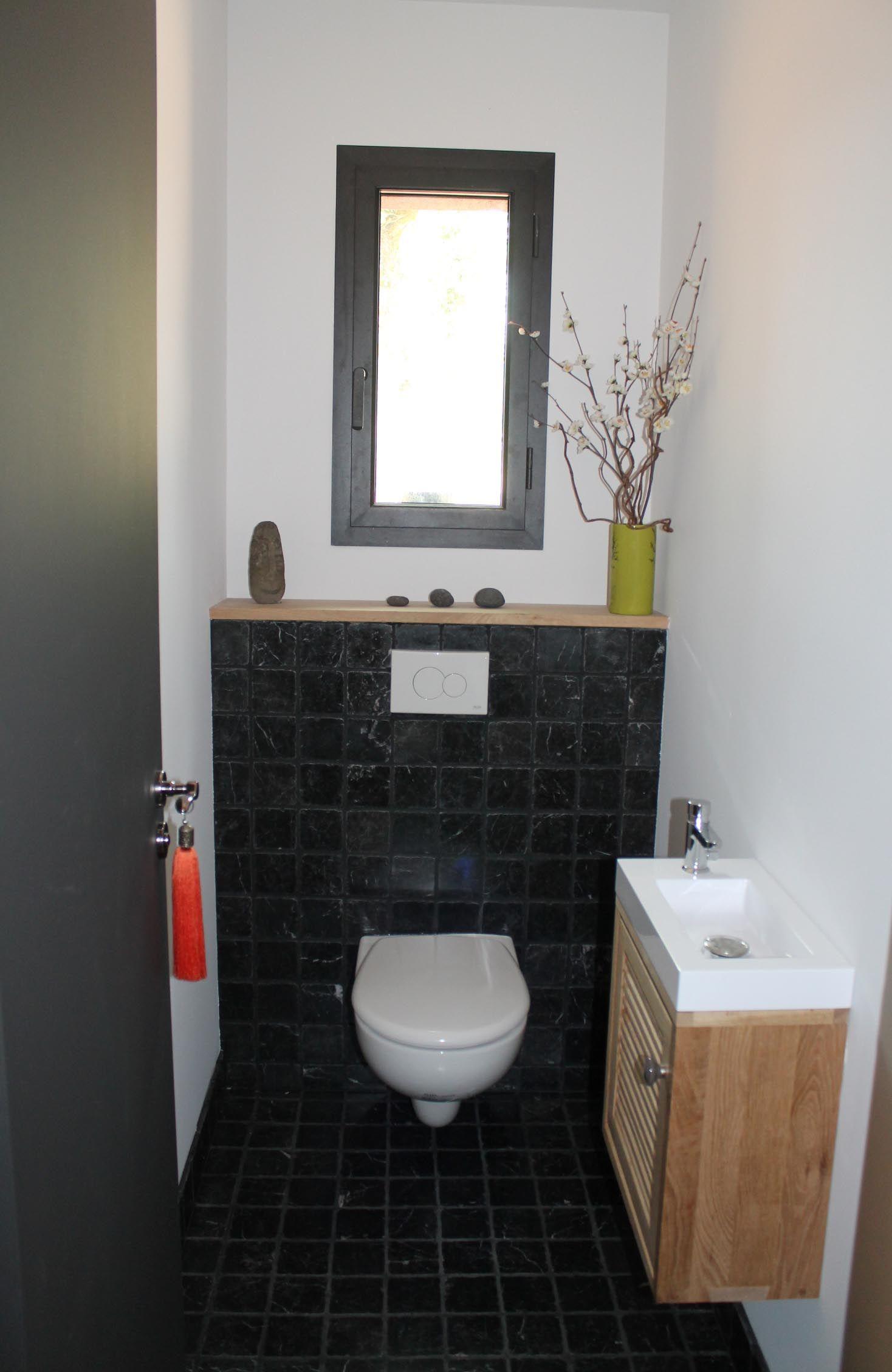 WC faïence noire   wc   Pinterest