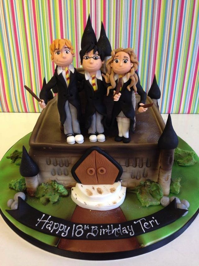 Image result for harry potter birthday cake syler Pinterest