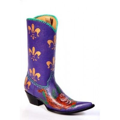 Boogalee Custom Boot  -- Love the bright colors!