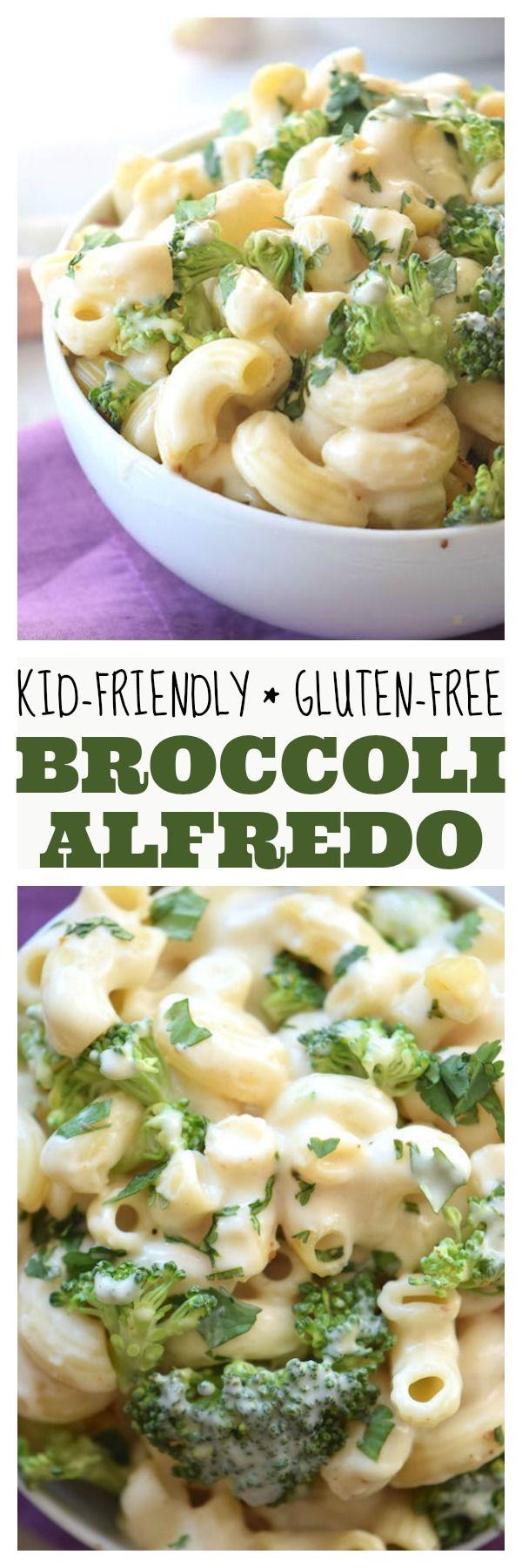 Gluten Free Broccoli Alfredo Recipe Pasta Dishes Pasta