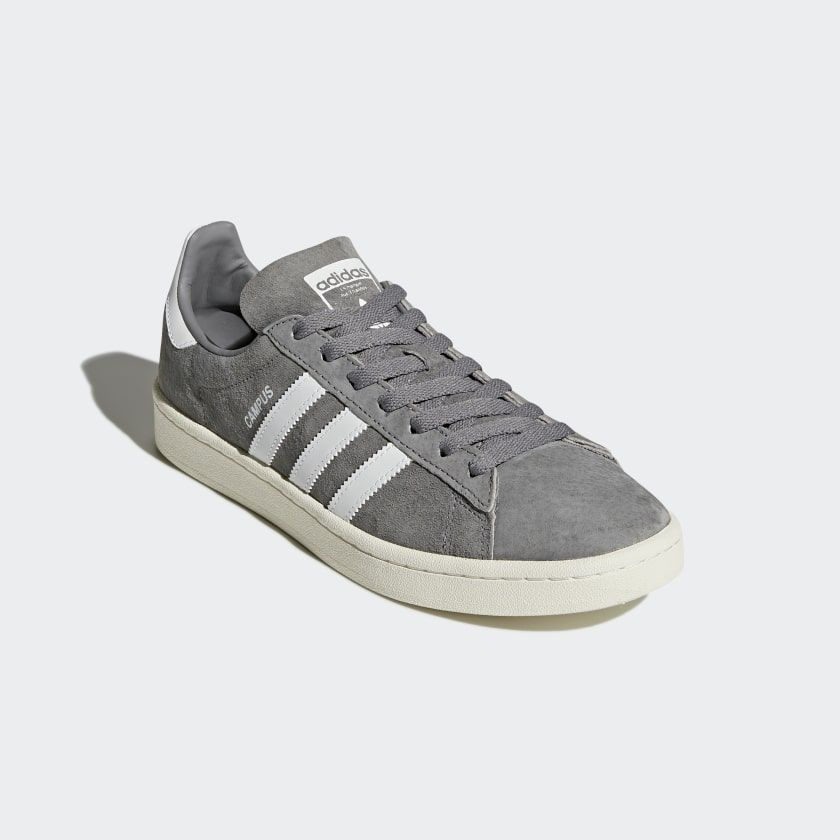 Campus Shoes Grey Three / Cloud White