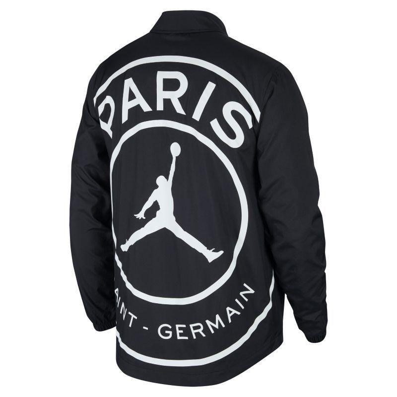7eb58b38956 paris saint-germain coaches men's jacket – black | products. Download Image  800 X 800