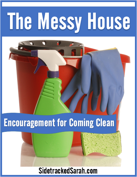 The Messy House - encouragement for coming clean!