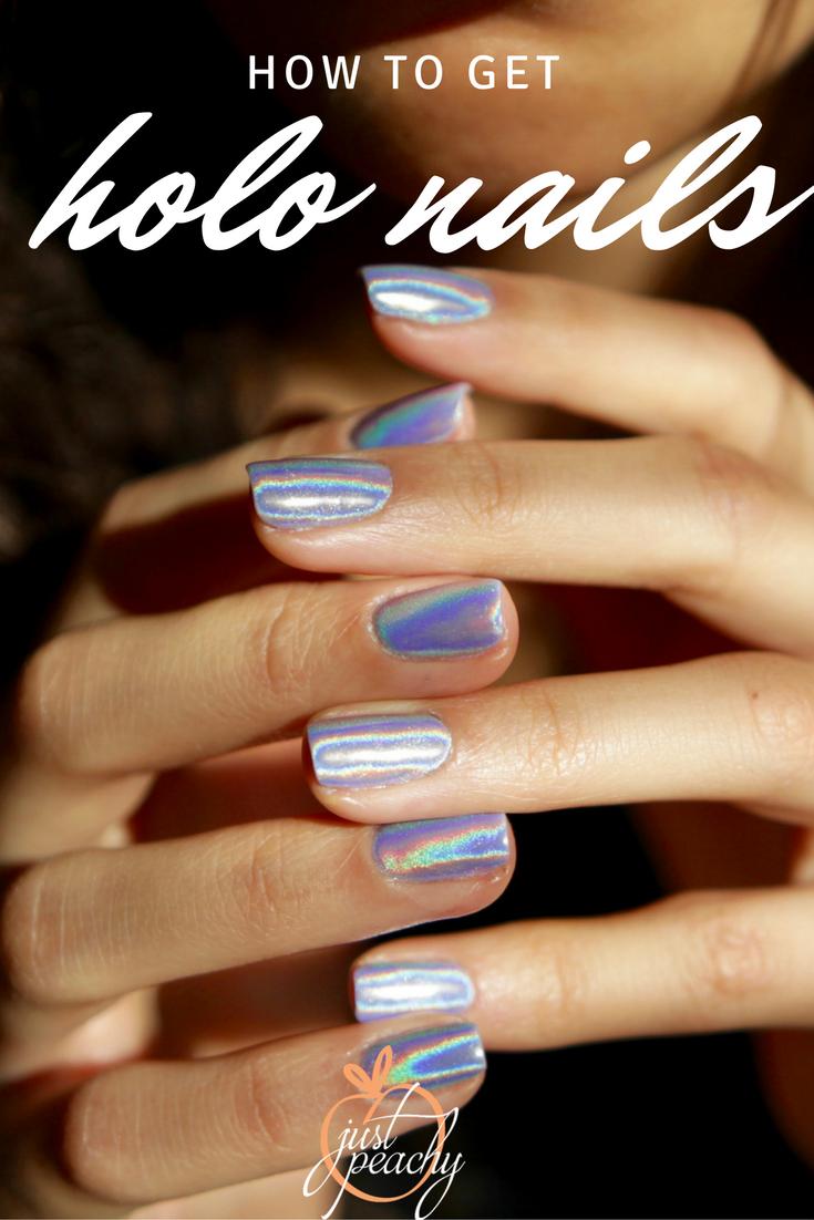 Holographic Nails | Nail supply, Holographic nails and Chrome nails