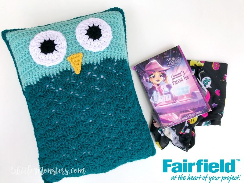Free Pattern For A Crocheted Owl Pocket Pillow The Pocket On The