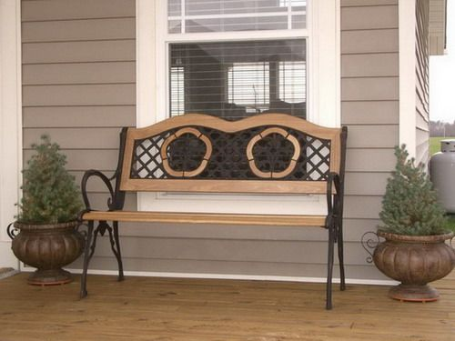 home treenovation outdoor porch bench images