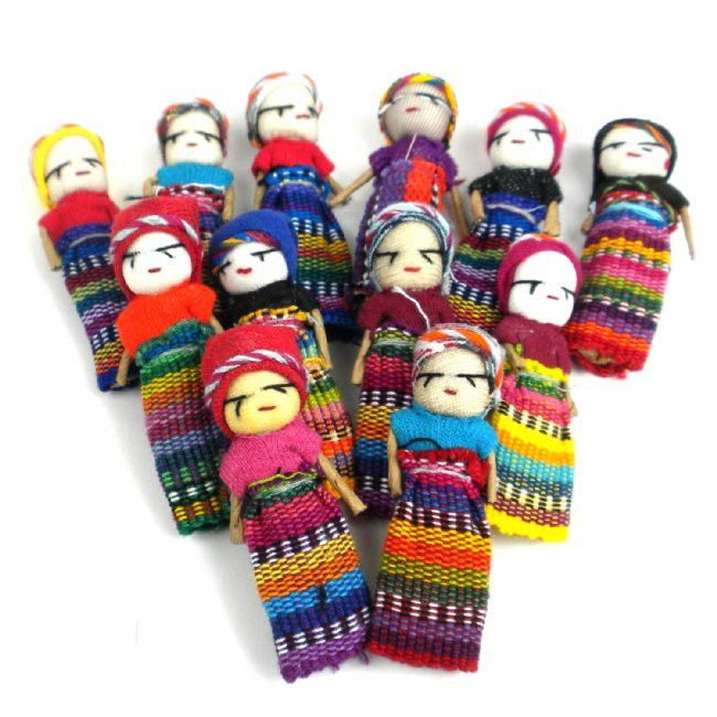 Worry Dolls #indianbeddoll