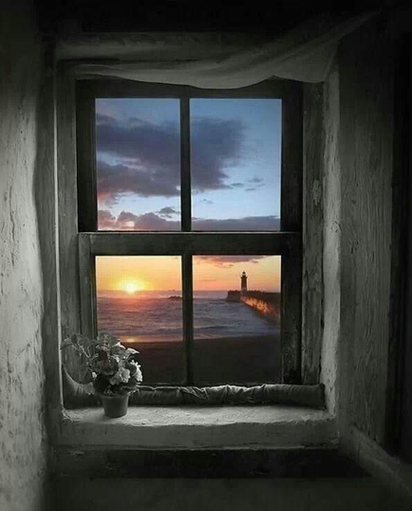 Gewitter Offenes Fenster