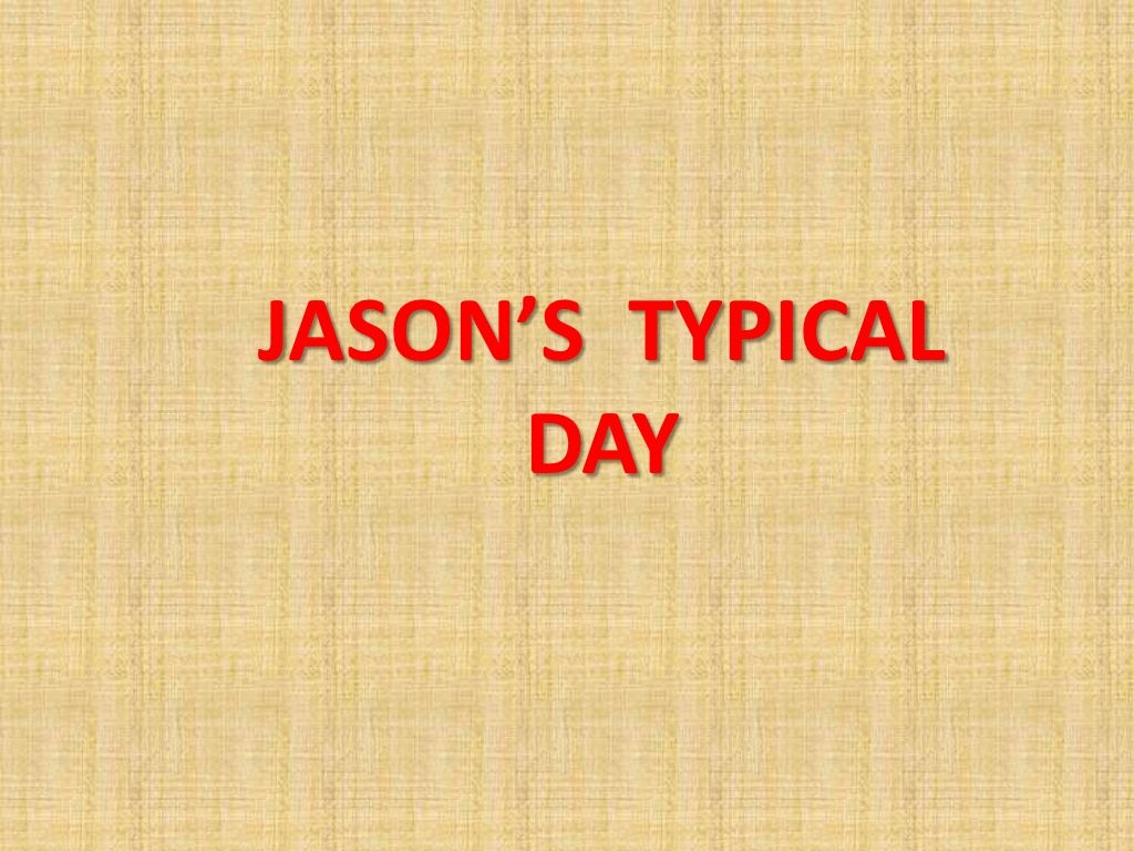 4 Writing Typical Day By Learning English Via Slideshare