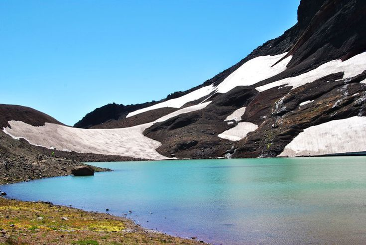 Hiking Broken Top Trail to No Name Lake #oregontravel
