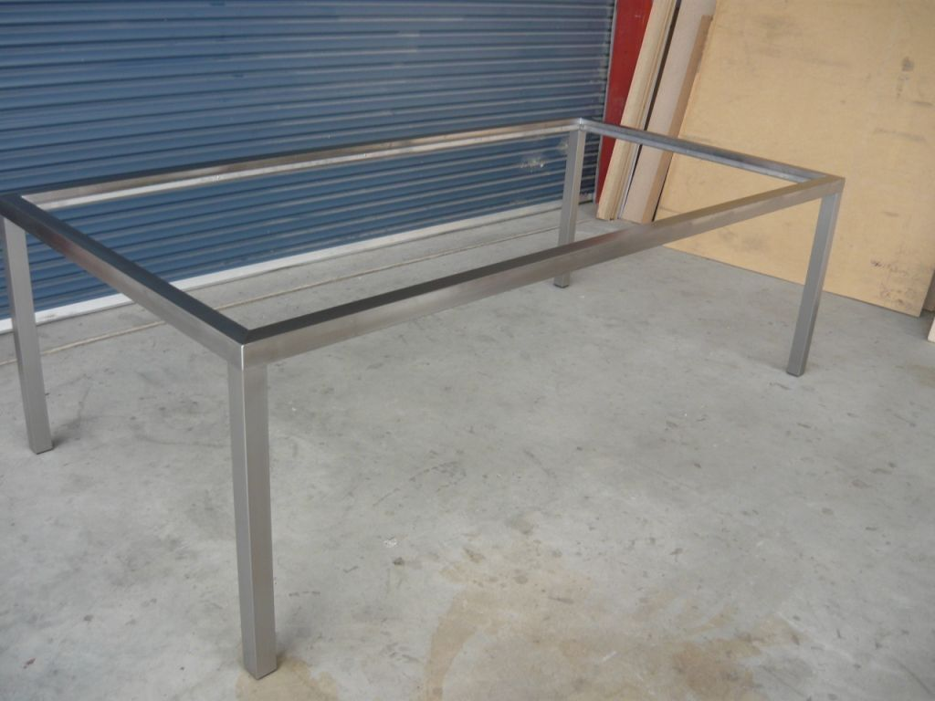 Image result for steel frame for table   Table Frame Ideas ...