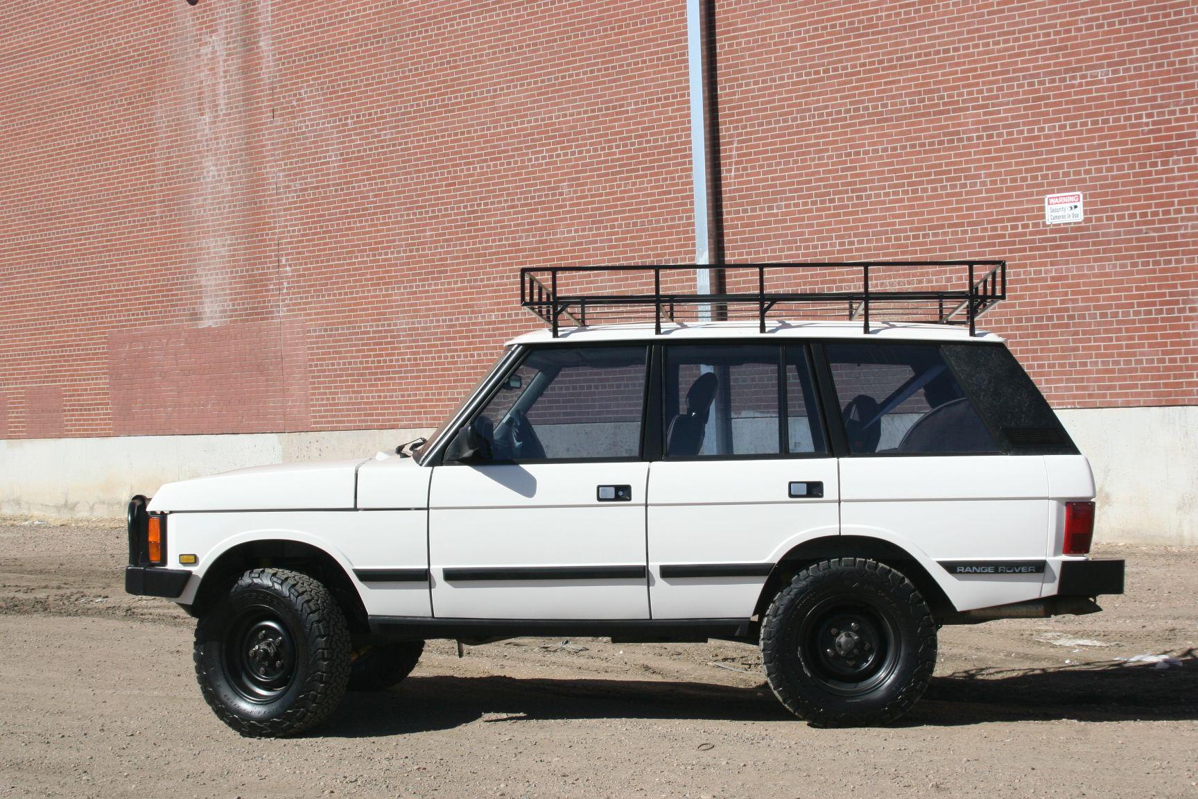Supercharged 4.6L 1995 Range Rover County SWB Range