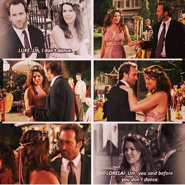 lorelai and luke start dating