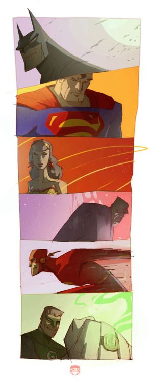 The Justice League by Coran Kizer Stone.