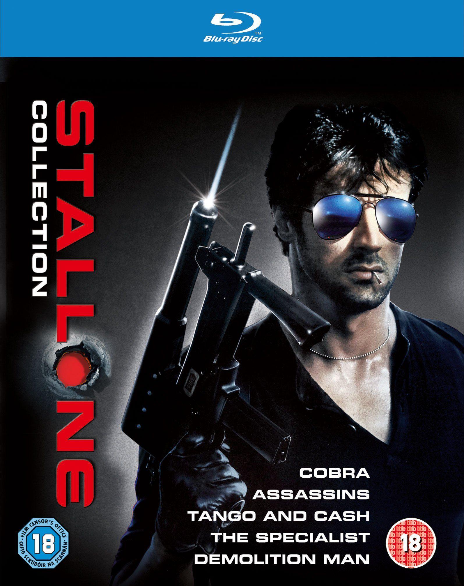 The Stallone Collection 5 Blu Ray Edizione Regno Unito Reino