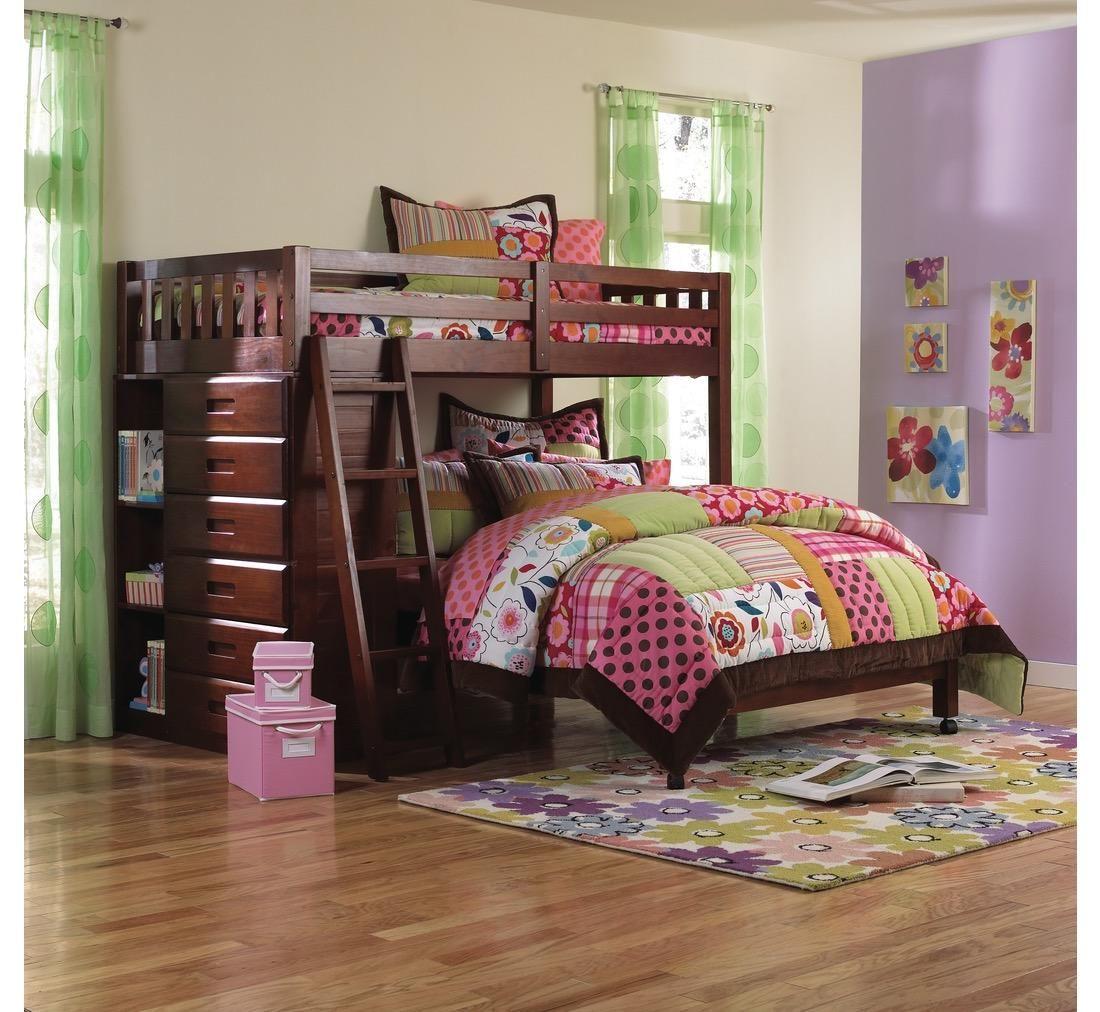 Forrester Twin/Full Loft Bed Badcock &more Loft bunk