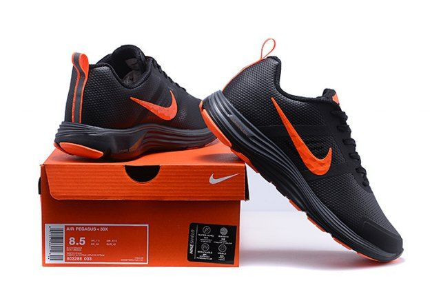 0ef32f97ba576 Nike Air Zoom Pegasus 30 Men s Running Shoe Black Orange  DC004727 ...