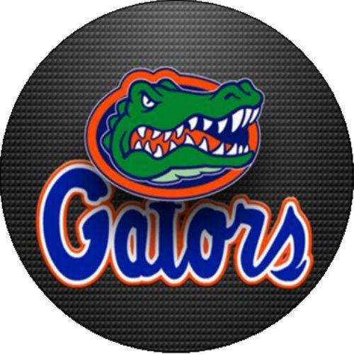 Florida Gator College Football Logo SEC Sports Edible
