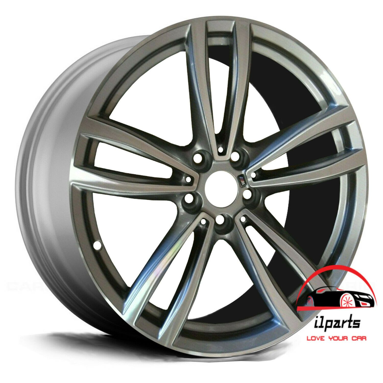 Bmw 740i 750i 2016 19 Factory Oem Machined Silver Wheel Rim Front Wheel Rims Wheel Bmw
