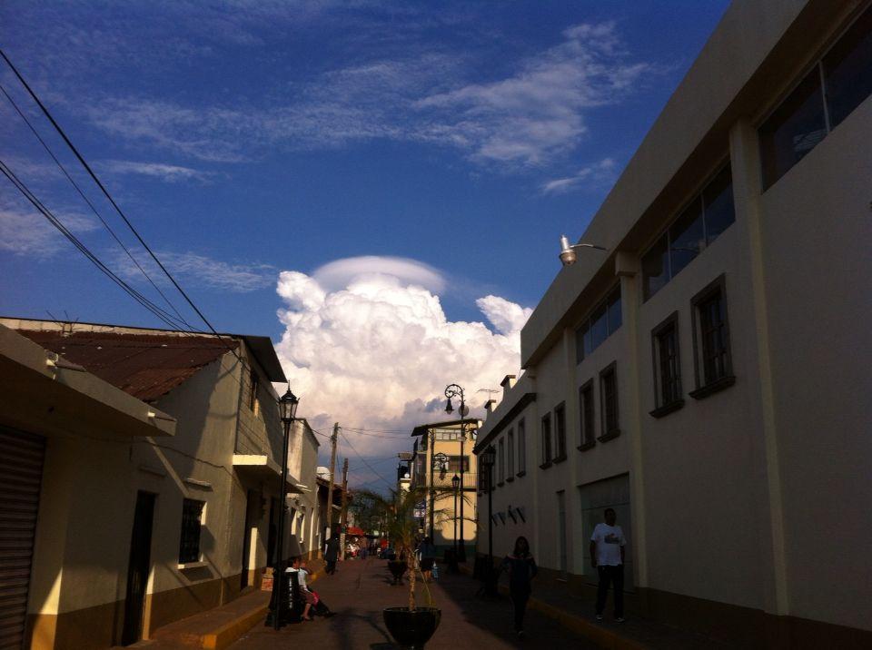 El Popocatepetl