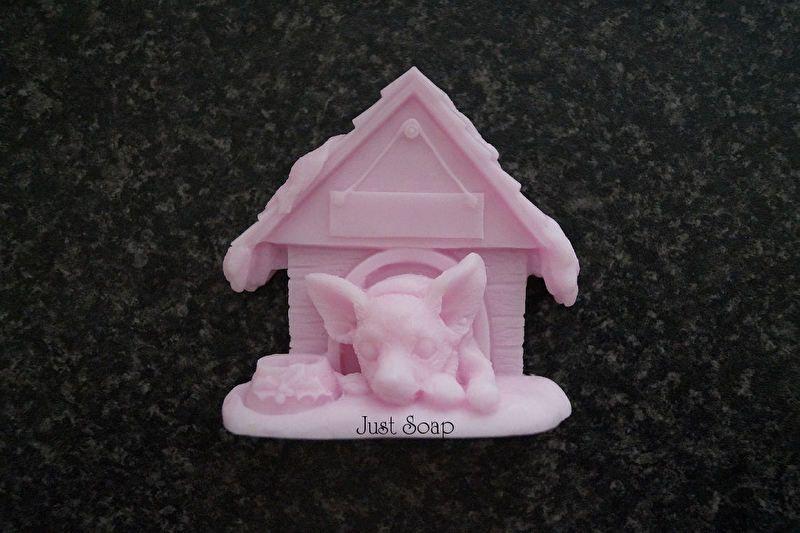 Chihuahua in Hondenhok   *Nieuw Maart Zeep*   Just soap