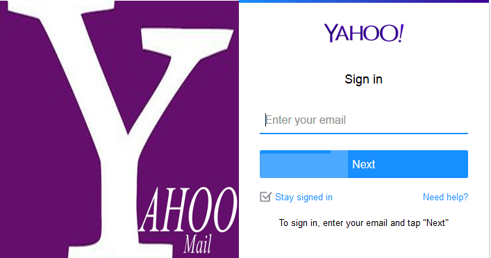 Ymail signin
