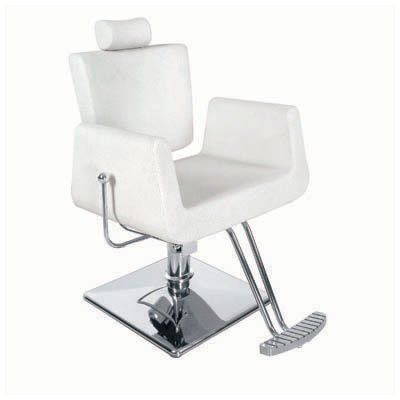Ariel Super Deluxe Reclining Threading Chair Beauty Or Hair In White Very Modern New Design Ideal For Hai Salon Chairs Salon Styling Chairs Chair Style
