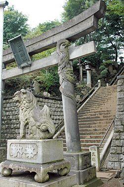 Japan Photo   Shinagawa-jinja 品川神社 Japanese Shinto shrine in Tokyo