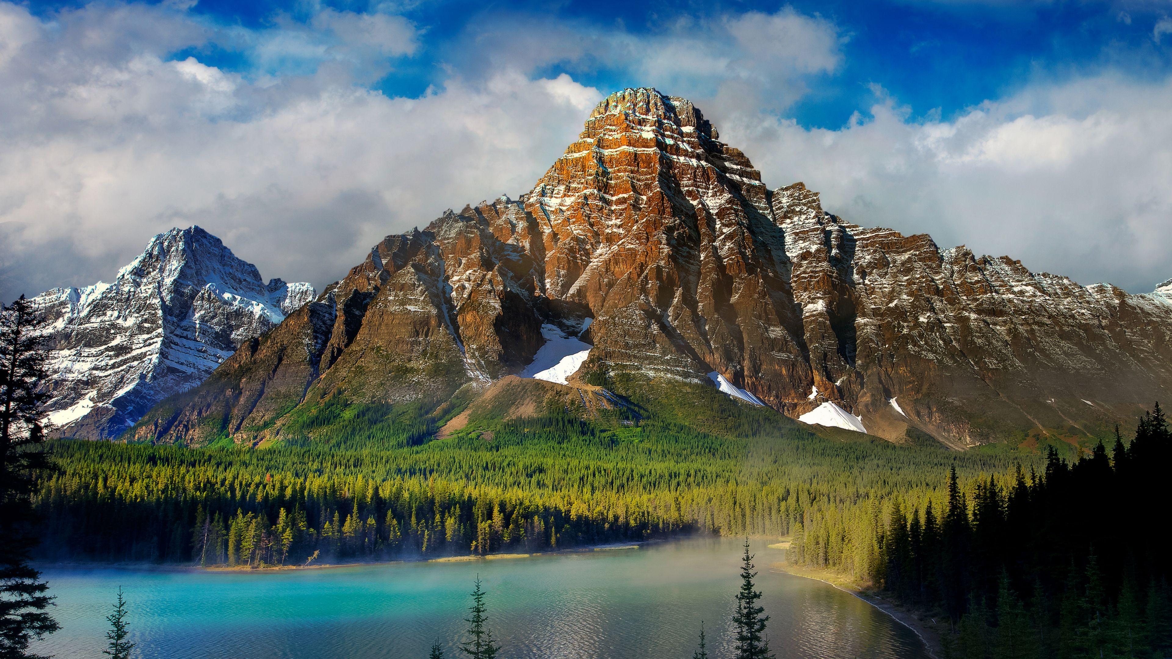 Lake Mountain Scenery Wallpaper HD Of Beautiful Landscape