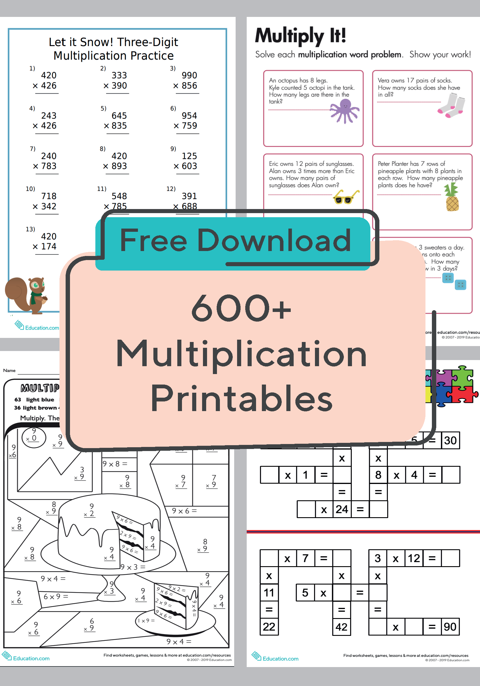 Prepare Your Child For Multiplication Success With This