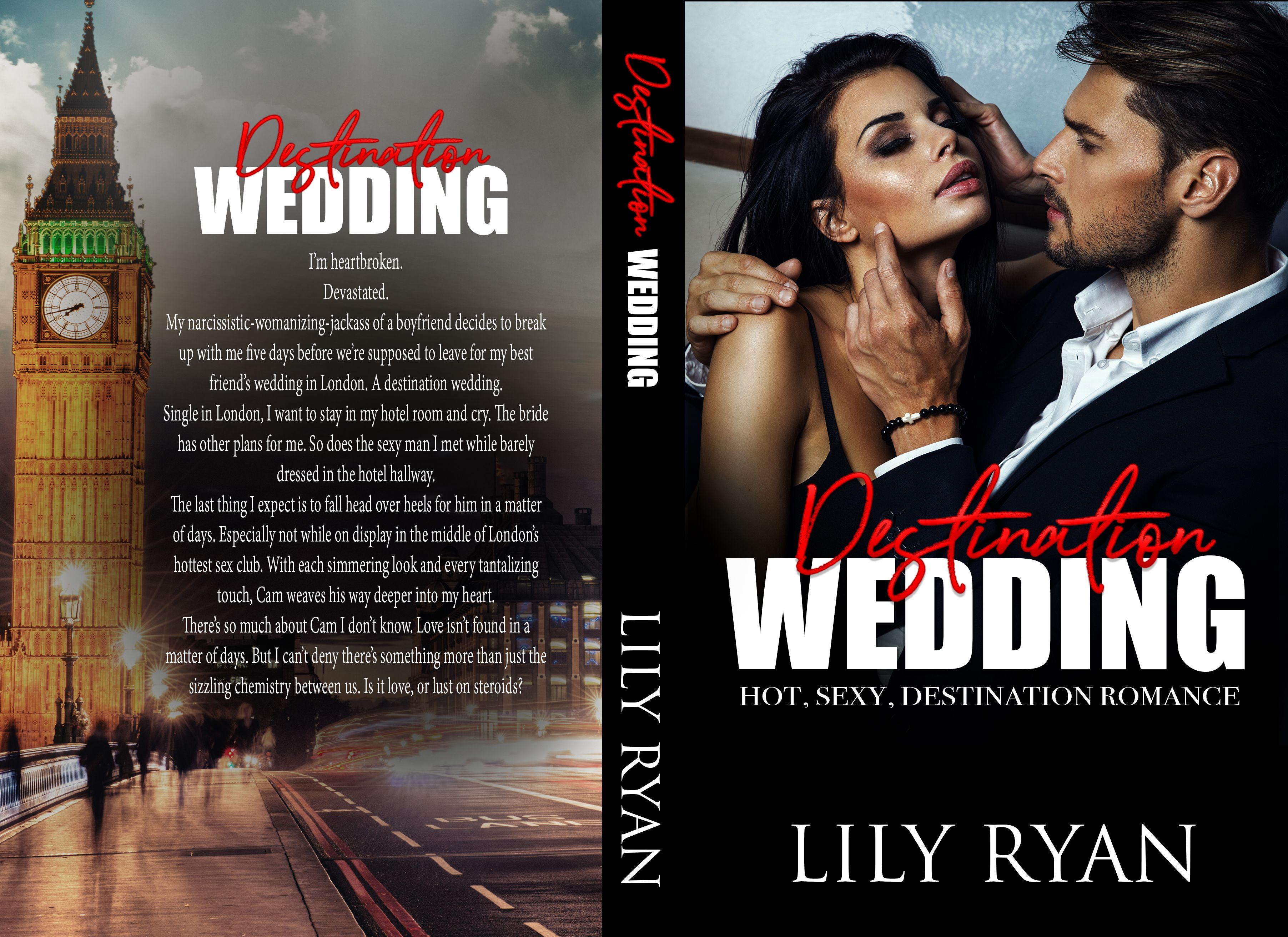 DESTINATION WEDDING Author Lily Ryan AMAZON UNIVERSAL