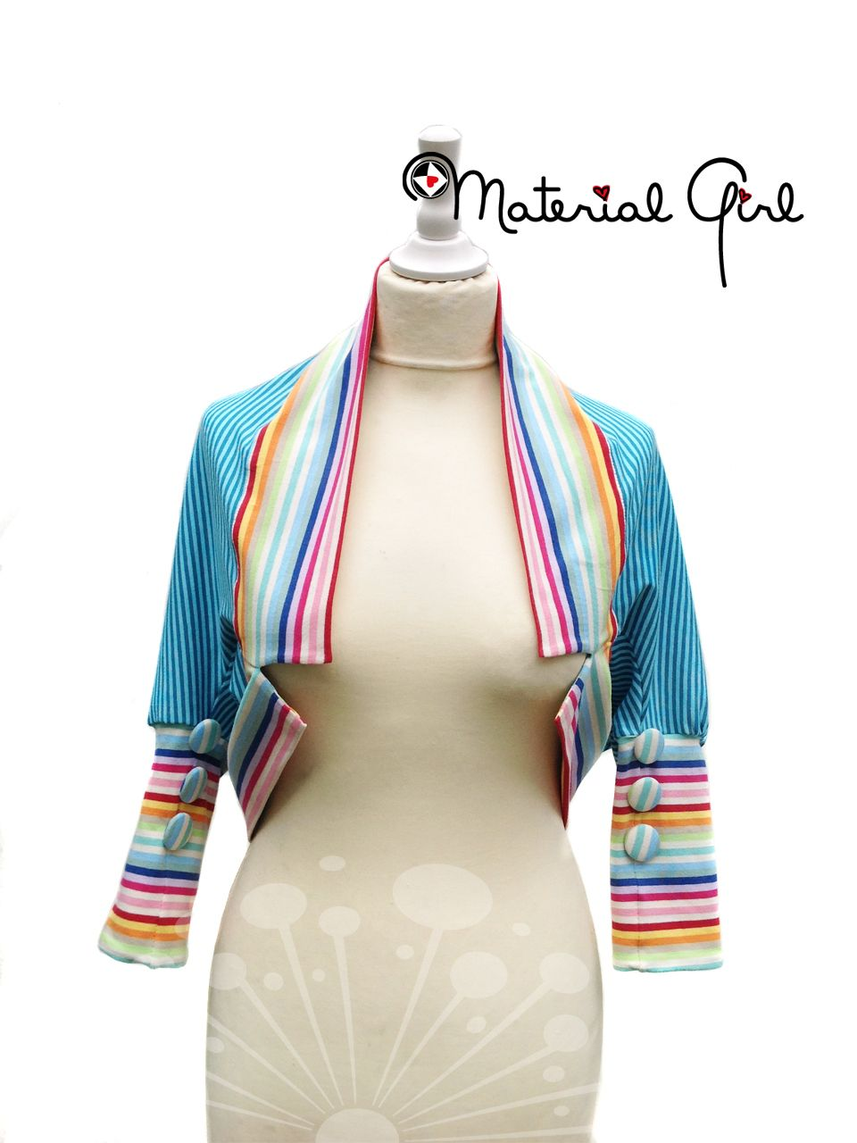 Bolero | nähen | Pinterest | Boleros, Sewing patterns and Vest pattern