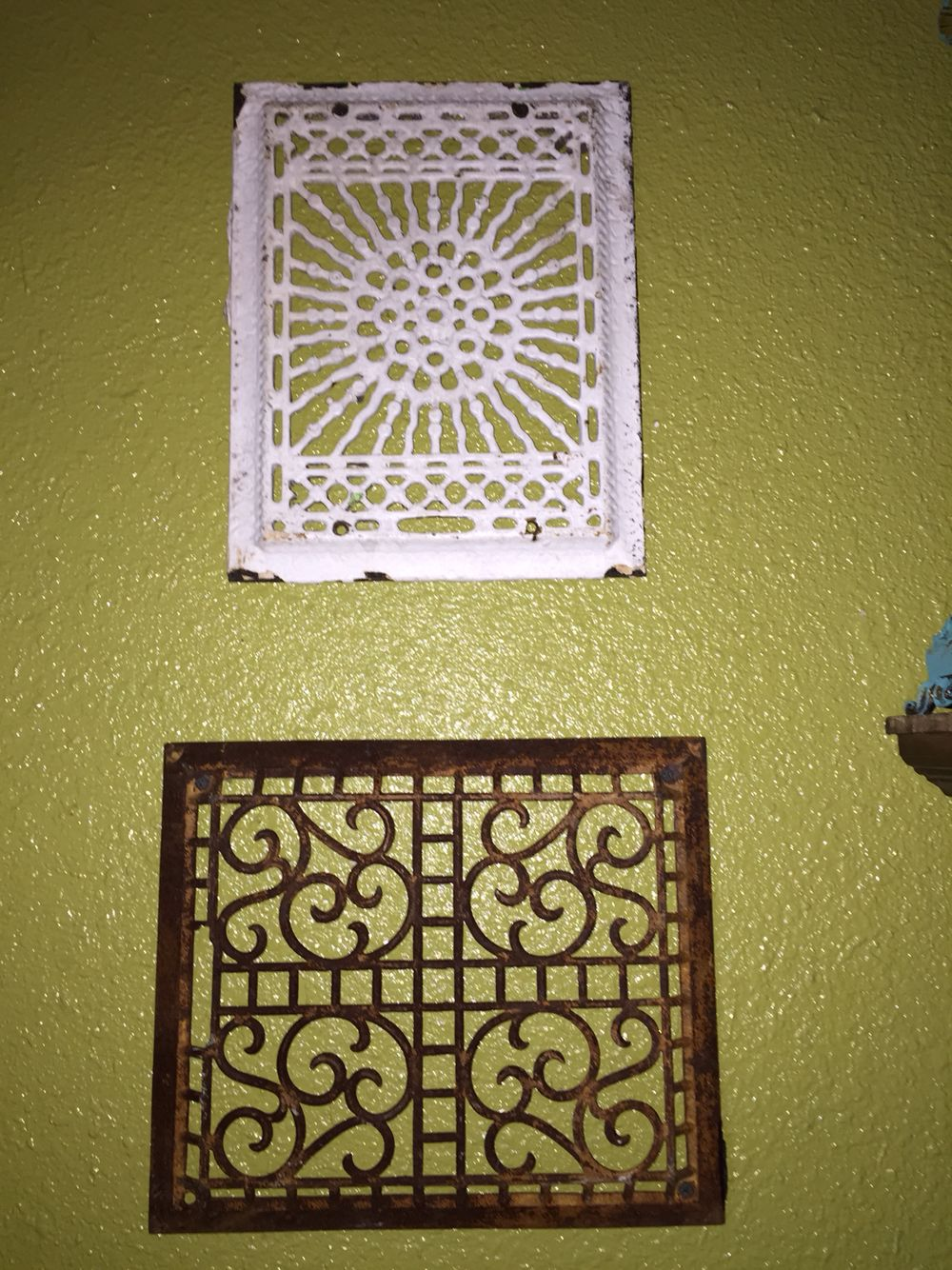 Antique vent covers