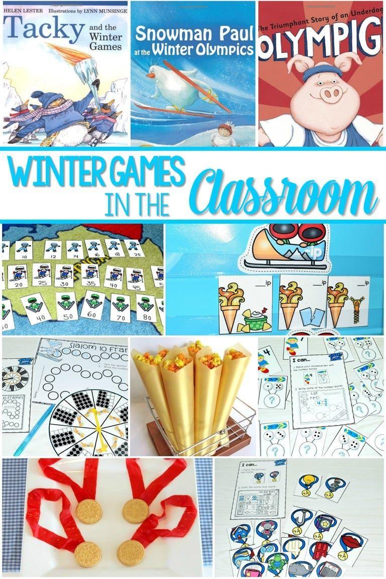 Winter Games Lesson Ideas Kindergarten Books Kindergarten Activities Olympics Activities [ 1152 x 768 Pixel ]