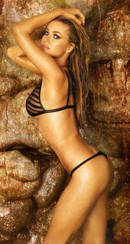 Cleared Carmen electra joggong bikini