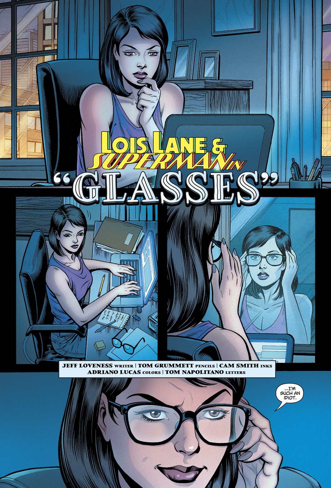 Mysteries Of Love In Space 1 Glasses 2019 Written By Jeff Lovenessart By Tom Grummett Cam Smith Superman Comic Comics Comics Online