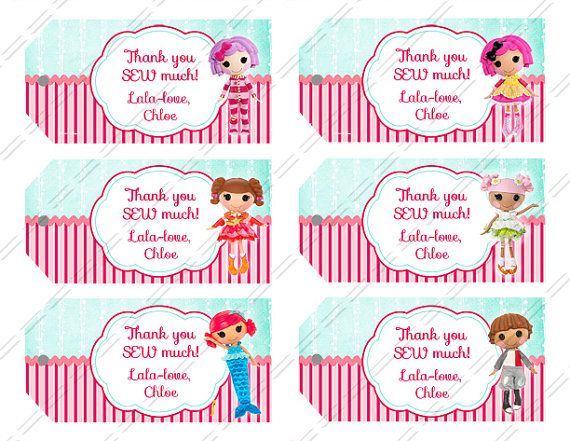 Lalaloopsy party supplies gift tag printable your choice of 6 by lalaloopsy party supplies gift tag printable your choice of 6 by lalaheaven 600 negle Images