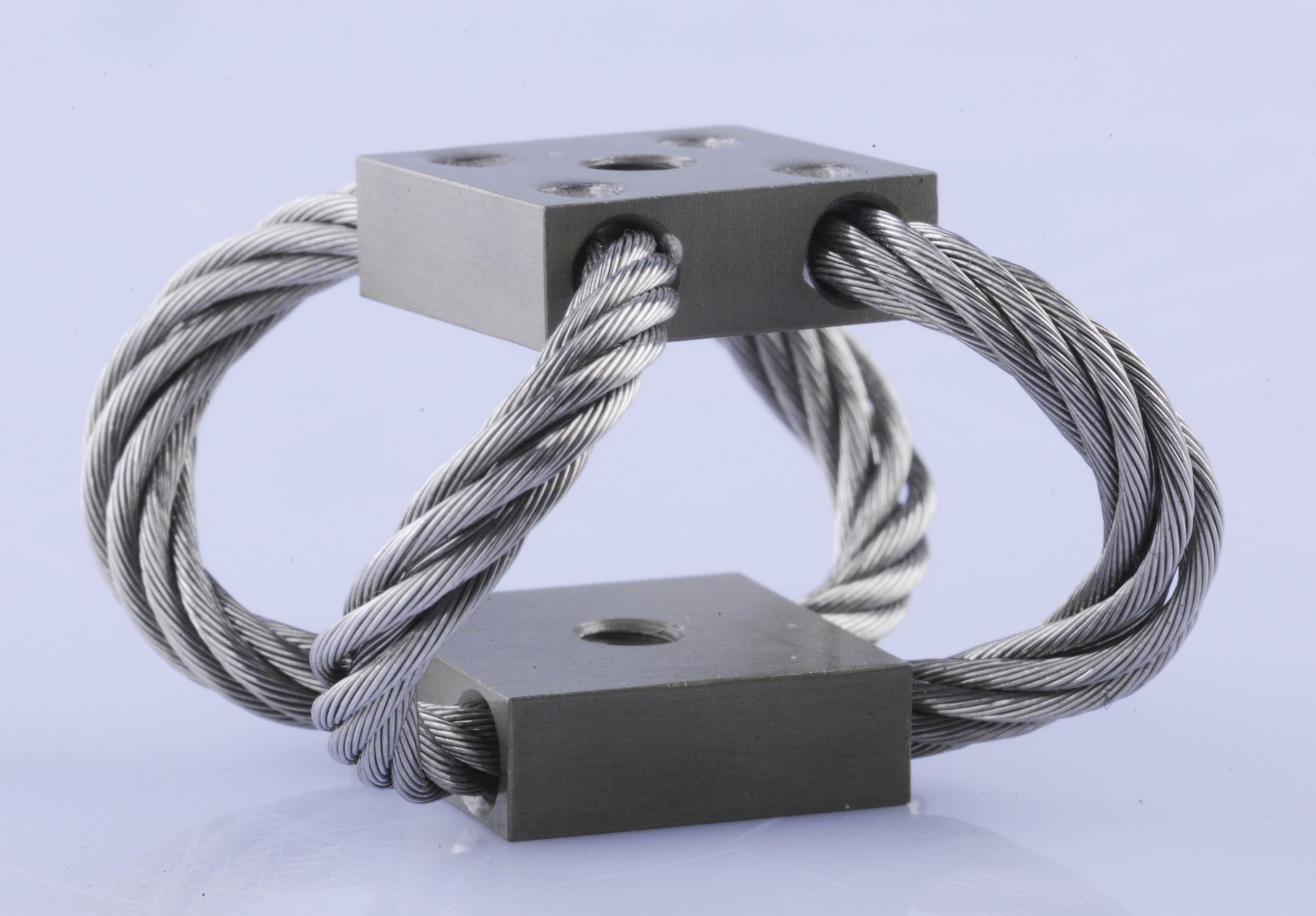 Wire rope isolator anti-vibration mount - GGD series - Wuxi Hongyuan ...