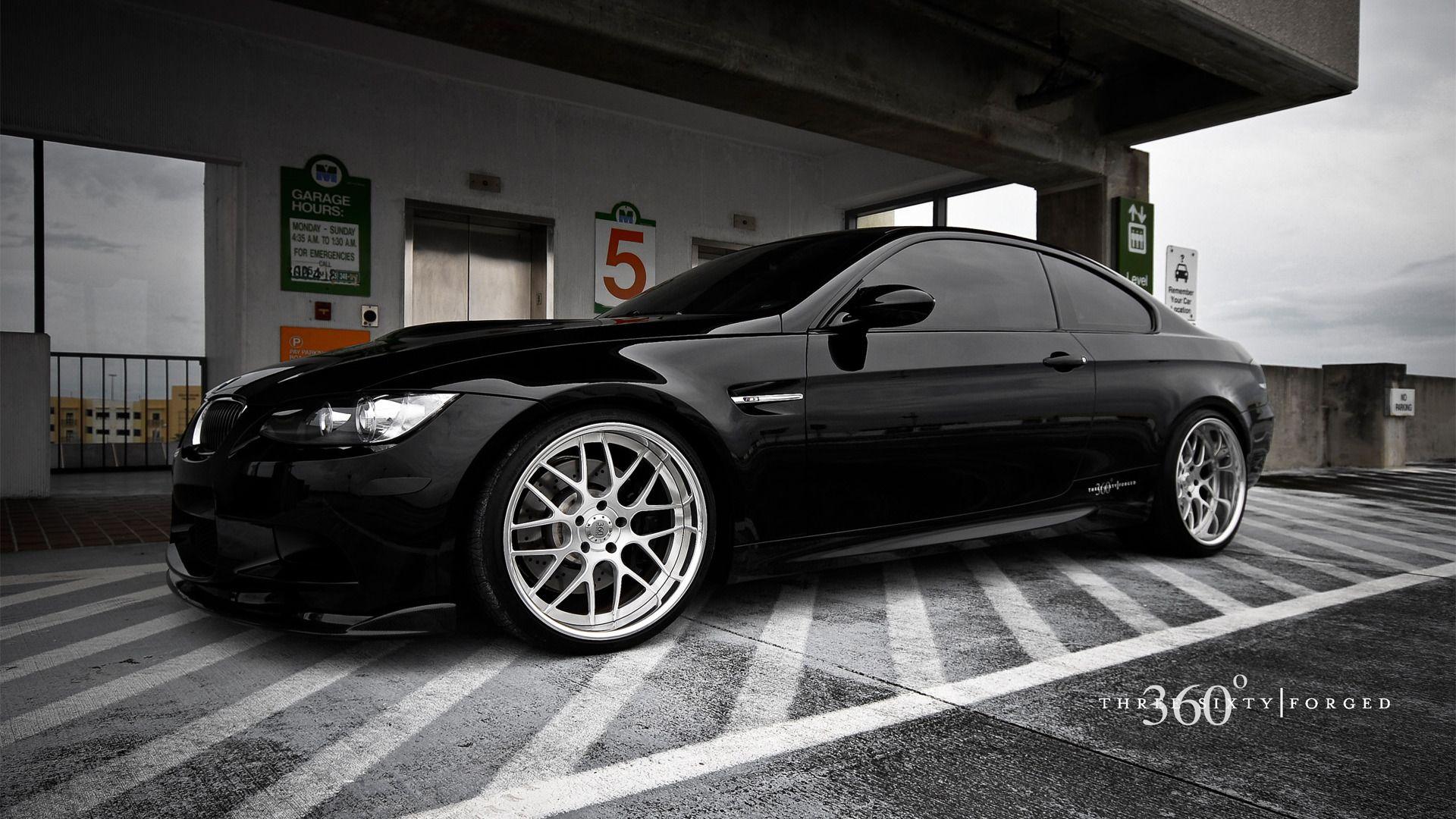 Car Photography HD Wallpaper Wallpaper Wallpaperwonder - Black bmw car