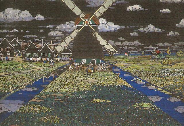 Mulini a vento - Kandinsky Meravigliosa! La trovate qui: www.kandinskymilano.it