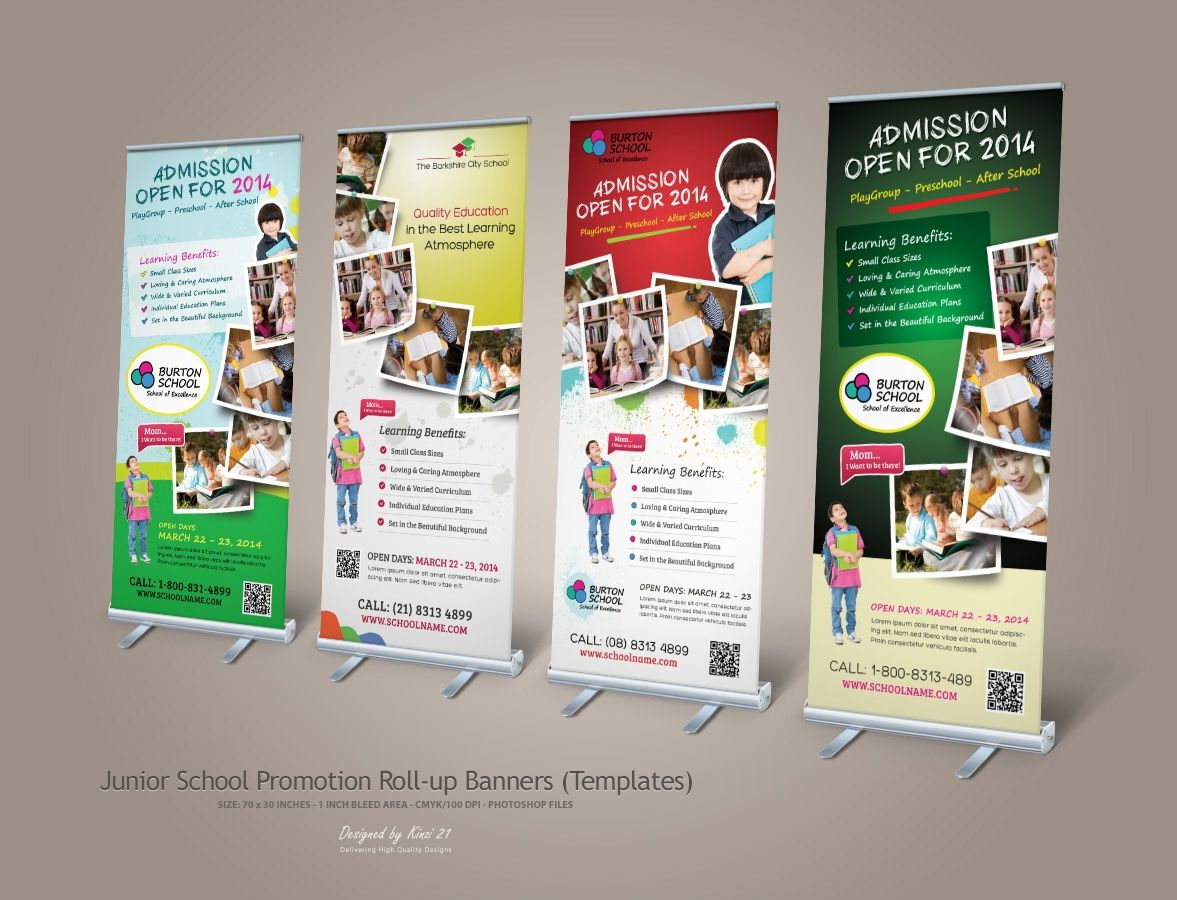20+ Inspiration Banner Design Ideas For School