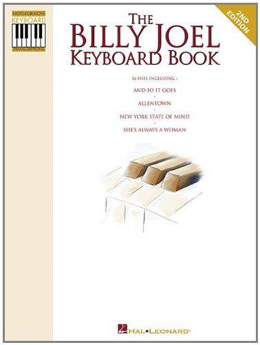 The Billy Joel Keyboard Book NoteforNote Keyboard