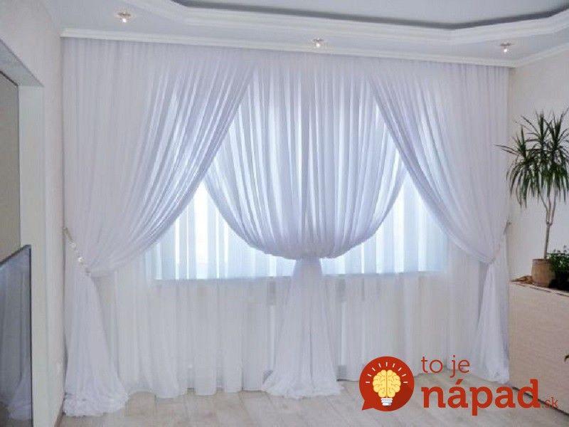 Prinášame vám nápady, ako záclony použiť v našom domove tak, aby sme dosiahli ten najkrajší výsledok. Presvedčte sa, že záclony nemusia zdobiť len naše okná.