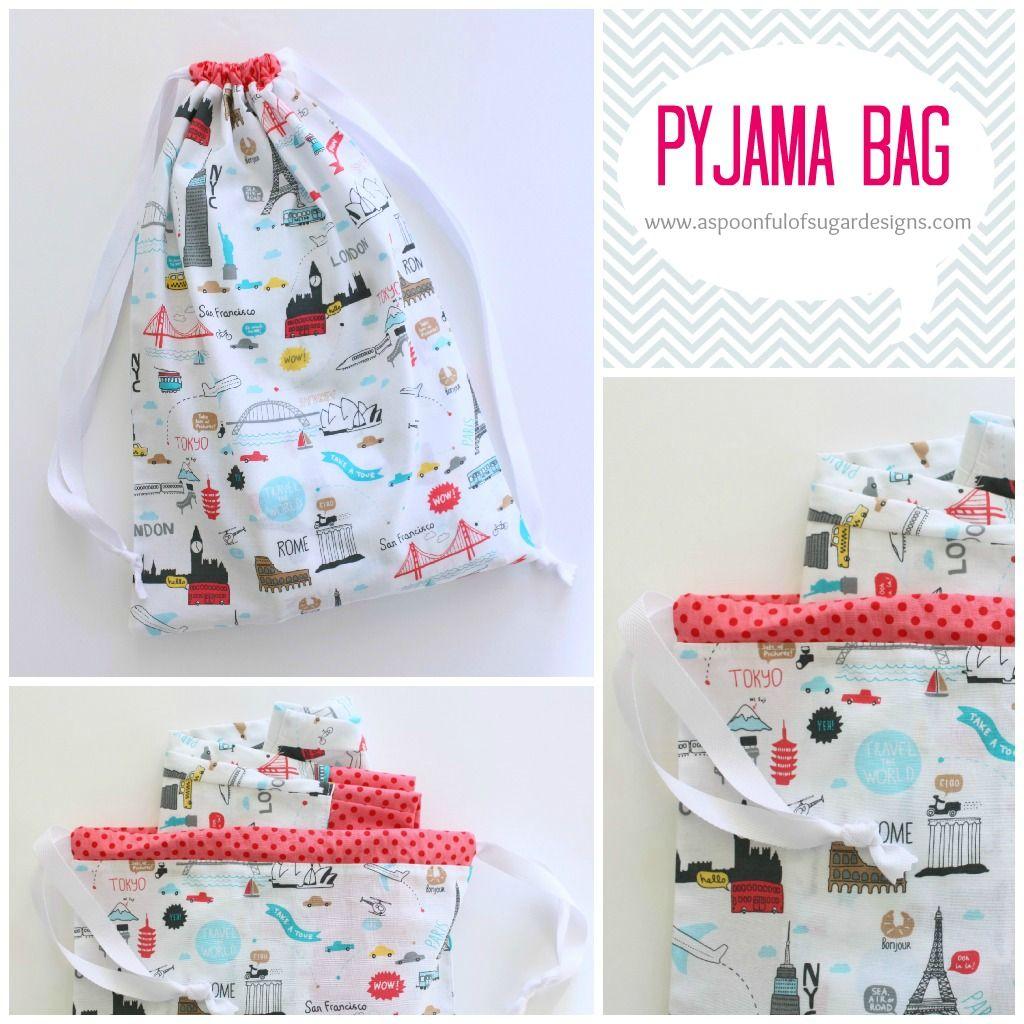 Bolsa de viaje para guardar ropa interior o el pijama | Costura ...