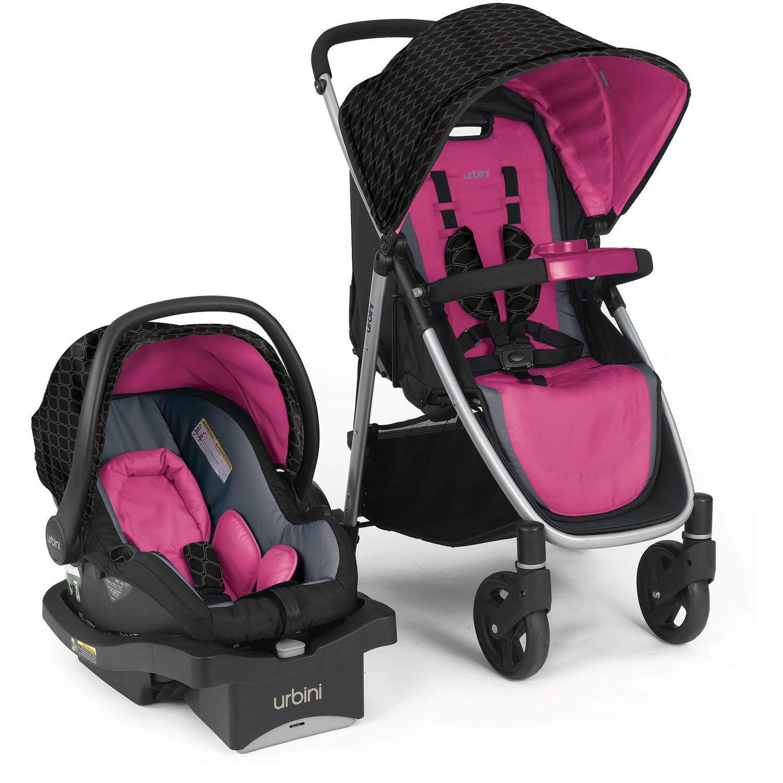 Urbini Turni Infant Baby Girl Safety Car Seat Stroller